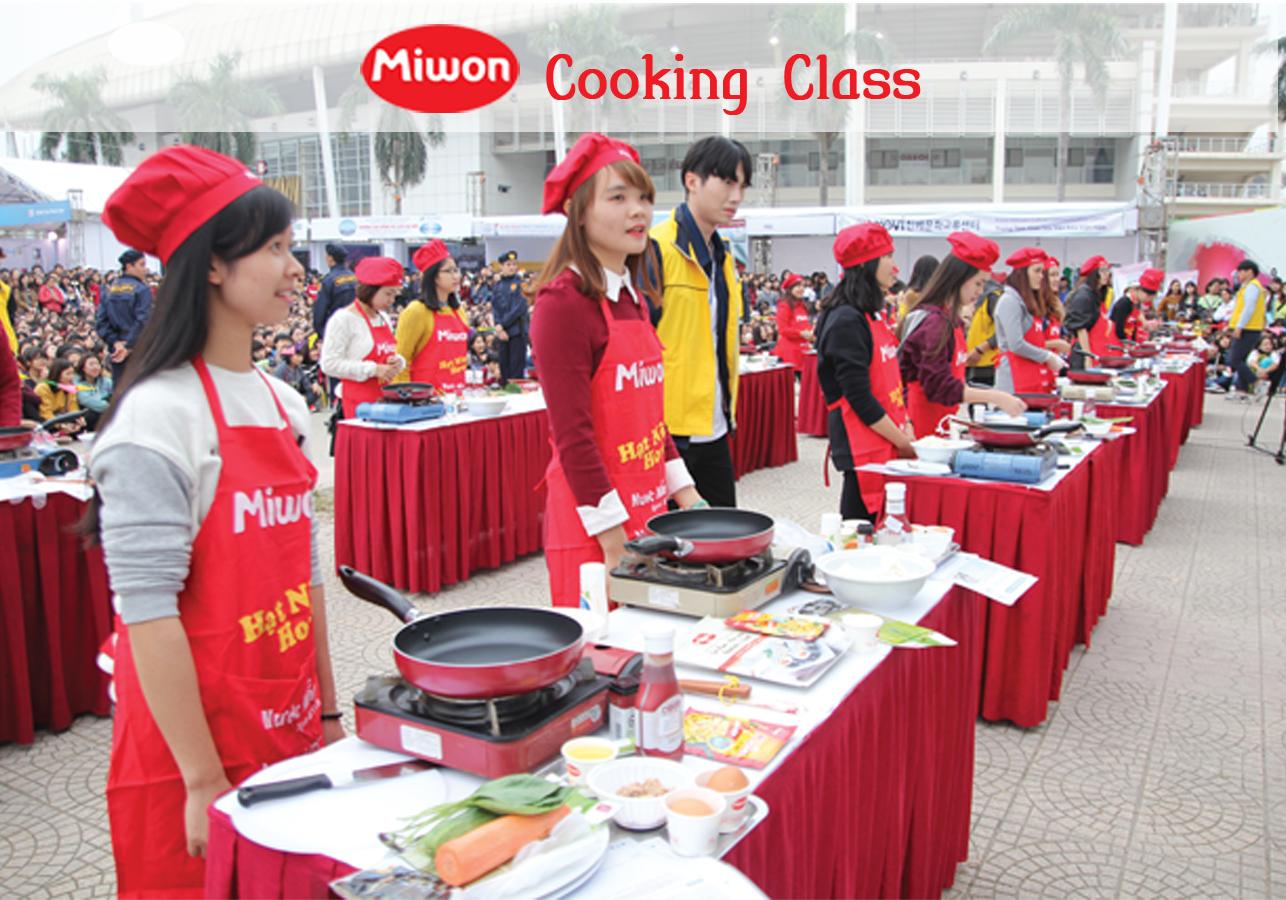 Miwon tham gia lễ hội văn hóa ẩm thực Việt Nam - Hàn Quốc